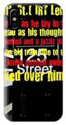 Death On 125th St. Irt Lenox Ave Line IPhone Case