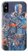 Deathstroke Illustration Art IPhone Case
