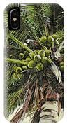 Debbie's Coconuts IPhone Case