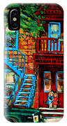 Debullion Street Neighbors IPhone Case