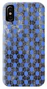 Decadent Urban Blue Patterned Abstract Design IPhone Case