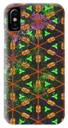 Decadent Urban Orange Green Patterned Abstract Design IPhone Case