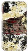 Decadent Urban Red Bricks Painted Grunge Abstract IPhone Case