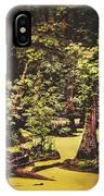 Decayed Vegetation - Run Swamp, North Carolina IPhone Case