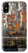 Decaying Railroad Car IPhone Case