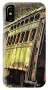 Decaying Trolley Cars IPhone Case