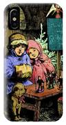 A Warm Moment On A Cold December Day IPhone Case