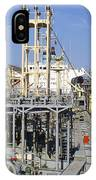 Deck Of A Fuel Ship IPhone Case