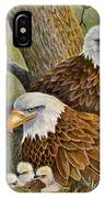 Decorah Eagle Family IPhone Case