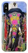 Decorated Indian Elephant IPhone Case