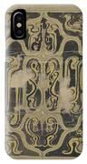 Decorative Design, Carel Adolph Lion Cachet, 1874 - 1945 Vq IPhone Case