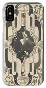 Decorative Design With Four Coats Of Arms, Carel Adolph Lion Cachet, 1874 - 1945 IPhone Case