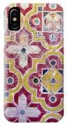 Decorative Tiles Islamic Motif  IPhone Case