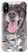 Dedicated Dog IPhone Case