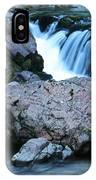 Deep Creek Flowing Between The Rocks IPhone Case