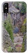 Deep Creek Gorge IPhone Case