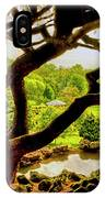 Deep Cuts Gazebo Between The Tree Branches IPhone Case