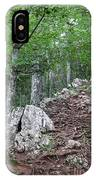 Deep Forest Rocky Path Nature IPhone Case