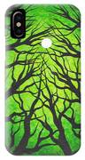 Deep Green Forest IPhone Case