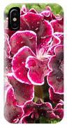 Deep Purple Geranium IPhone Case