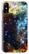 Deep Space Fire And Ice 2 IPhone Case