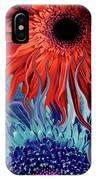 Deep Water Daisy Dance IPhone Case by Christopher Beikmann