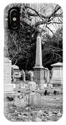 Deep Within Evergreen Cemetery IPhone Case