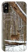 Deep Woods Deer IPhone Case