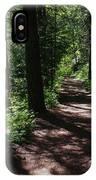 Deep Woods Road IPhone Case