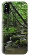 Deep Woods Stream 3 IPhone Case