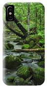 Deep Woods Stream IPhone Case