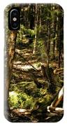 Deep Woods Trail IPhone Case