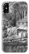 Deer Field  IPhone Case