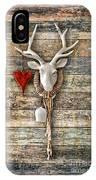Deer Heart - Hirschherz IPhone Case