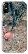 Deer In Woods IPhone Case