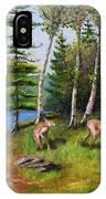Deer Meadow IPhone Case