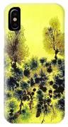 Deforestacion IPhone Case