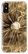 Delicate Dandelion IPhone Case