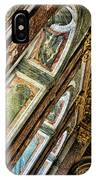 Delicate Details Versailles Chateau Up Close Interior France  IPhone Case