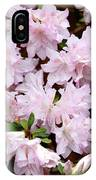 Delicate Pink Azaleas IPhone Case