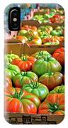 Delicious Tomatoes IPhone Case