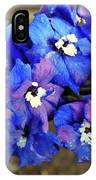Delphinium IPhone Case