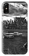 Demolition Derby Rain Storm Clouds #1 Tucson Arizona 1968 IPhone Case
