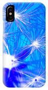 Dendelion Blue IPhone Case