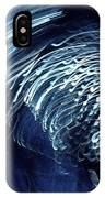 Denim And Light  Abstract 1 IPhone Case