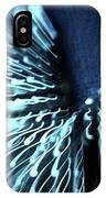 Denim And Light  Abstract 2 IPhone Case