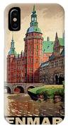 Denmark, Castle, Romance Of The Middle Ages Poster IPhone X Case