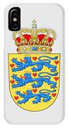 Denmark Coat Of Arms IPhone Case