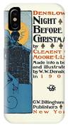 Denslows Night Before Christmas By Clement Moore Lld 1902 IPhone Case
