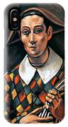 Derain: Harlequin, 1919 IPhone Case